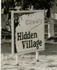 Hidden Village Sign