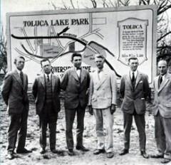 Toluca Lake Park Sign